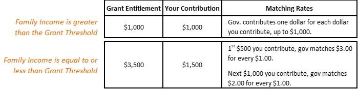Grant Entitlement Matching Ratios